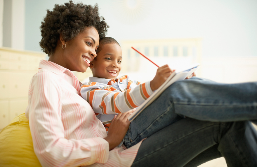 Image result for african american mother with child