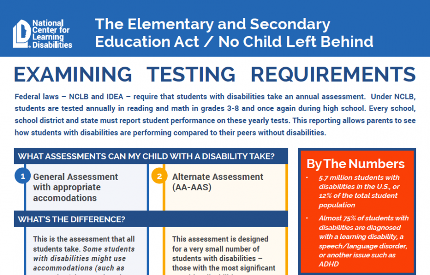 testing for learning disabilities near me