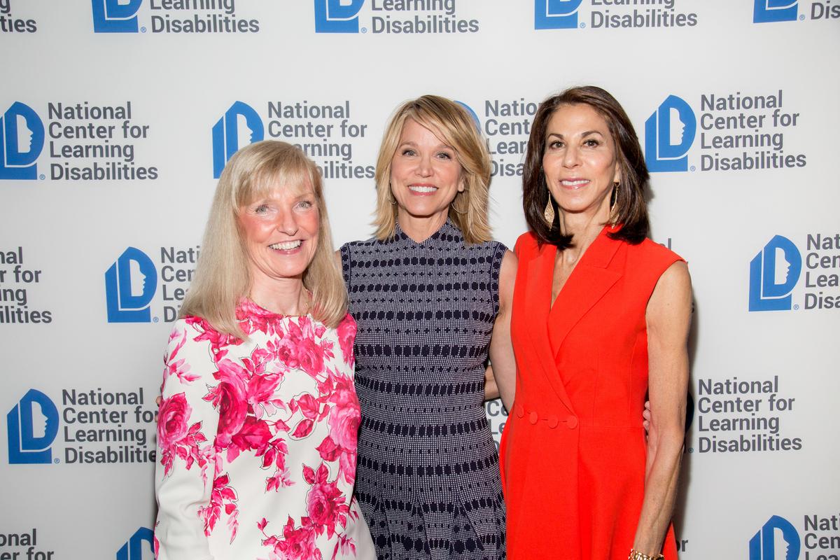 Susan Giannino, Chairman, North America, Publicis Worldwide, Paula Zahn, Emcee and Nancy Poses, NCLD Benefit Chair