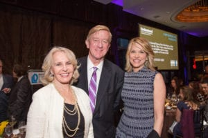 """Sally Quinn, NCLD Board Member & Founding Editor, """"On Faith"""", William Weld, Former Governor of Massachusetts and Paula Zahn, award-winning journalism and master of ceremonies"""