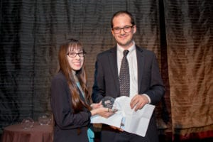 Savannah Trevino-Casis, 2015 Anne Ford Scholar and Zeke Neirenberg, 2009 Anne Ford Scholar