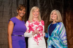 Rachel Vitti, Understood Parent Advisory Council, Susan Gianinno, Chairman, North America, Publicis Worldwide and Shelly London, President, Poses Family Foundation