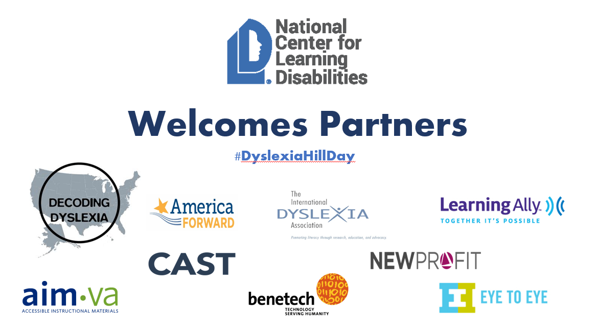 Decoding Dyslexias Legislative Day On >> Hill Day 2015 Success In School Success In Life Ncld
