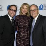 Jarrod Khan, Paula Zahn and Fred Poses, Poses Family Foundation at NCLD's 39th Annual Benefit on March 9, 2016.