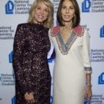 Paula Zahn and Nancy Poses at NCLD's 39th Annual Benefit on March 9, 2016.