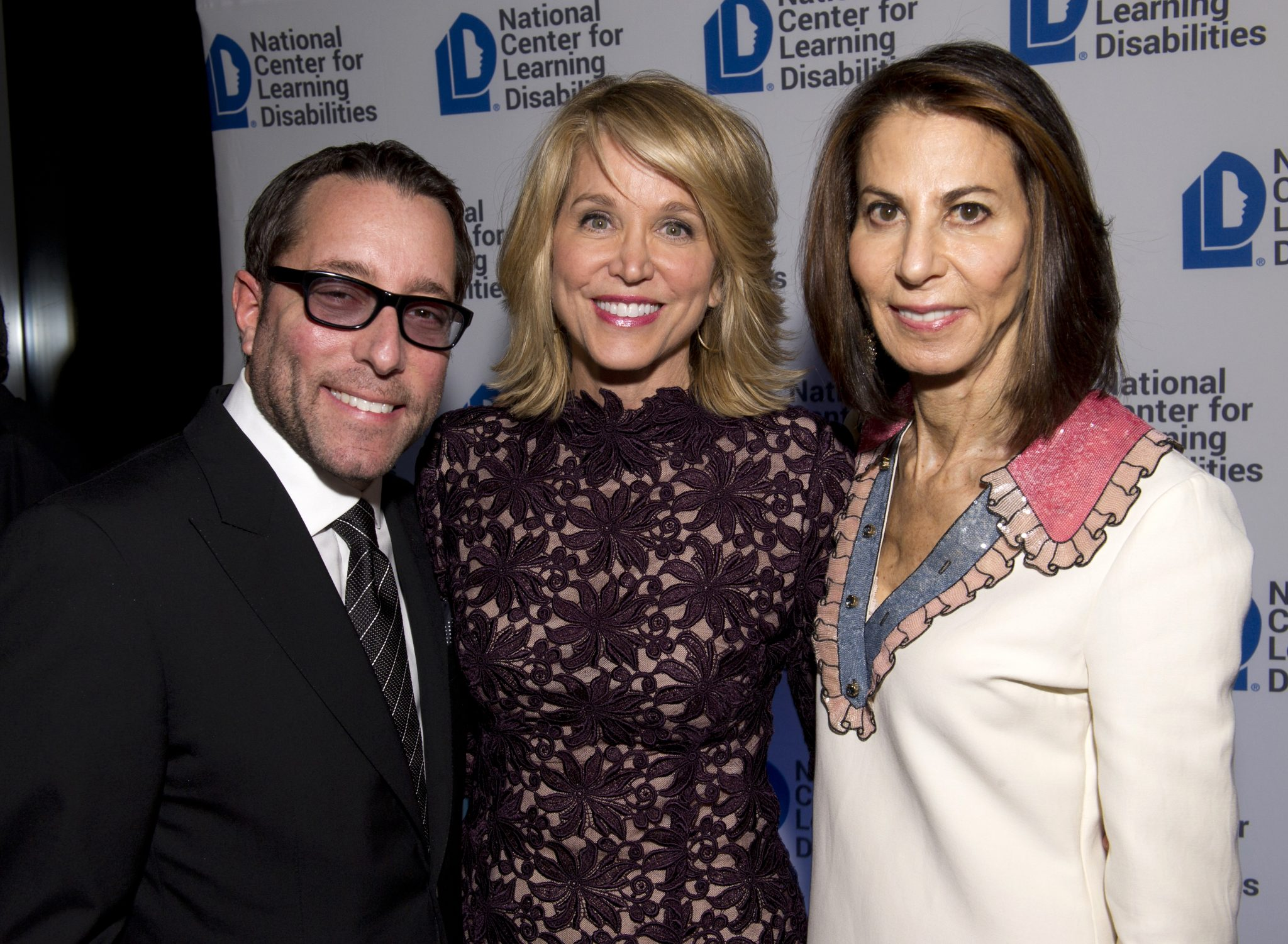 Jarrod Kahn, Paula Zahn and Nancy Poses at NCLD's 39th Annual Benefit on March 9, 2016.