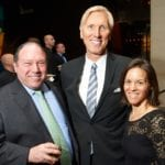 John Gantz, NCLD Board member, Robert Thompson, NCLD and Jennifer Gantz  at NCLD's 39th Annual Benefit on March 9, 2016.