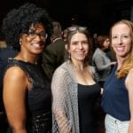 NCLD staff members Rashonda Ambrose, Gabrielle Bobadilla and Danielle Delcore at NCLD's 39th Annual Benefit on March 9, 2016.
