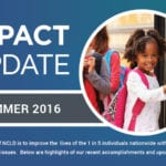 Impact Update - Summer 2016 Header Image
