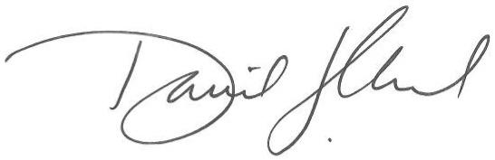 David J. Chard Signature