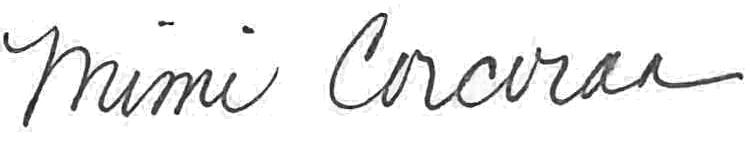 Mimi Corcoran Signature