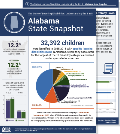 New Report State Of Learning >> Executive Summary Ncld