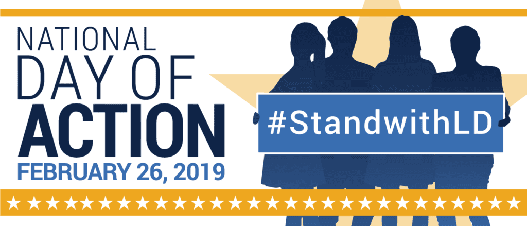 National Day of Action February 26, 2019 #StandwithLD